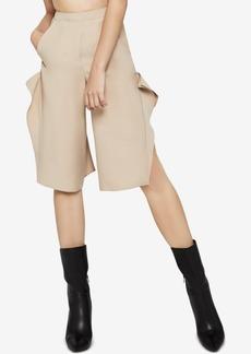 BCBGeneration Ruffled-Side Culottes