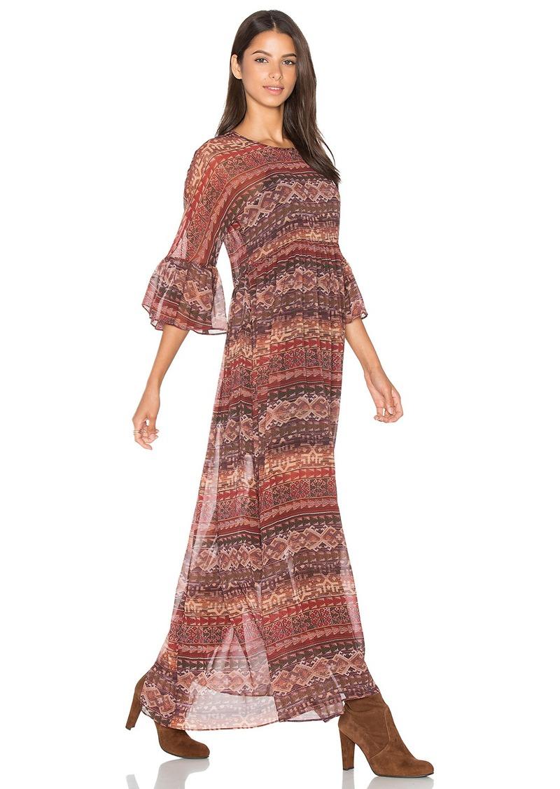 BCBGeneration Short Sleeve Maxi Dress