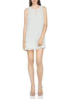 BCBGeneration Sleeveless Chiffon A-Line Dress