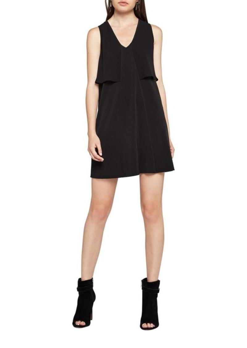 Bcbgeneration Sleeveless Jersey Overlay Dress