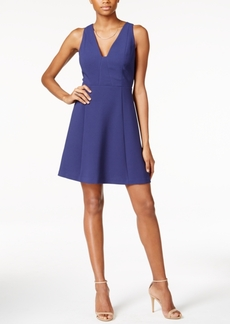 BCBGeneration Sleeveless V-Neck Fit & Flare Dress