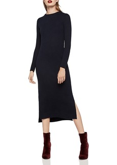 BCBGeneration Slit Midi Dress