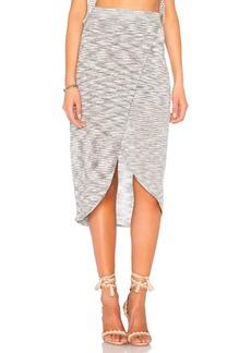 BCBG Space Dye Wrap Skirt