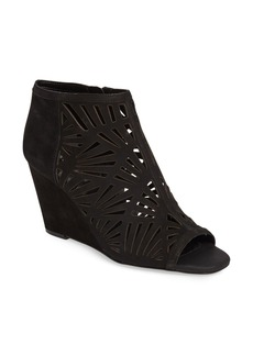 BCBGeneration Speranza Peep Toe Wedge Bootie (Women)