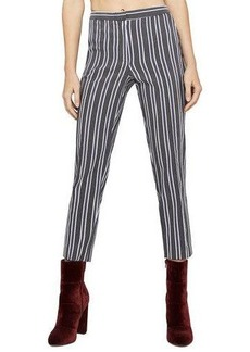 BCBGeneration Straight-Leg Cropped Trousers