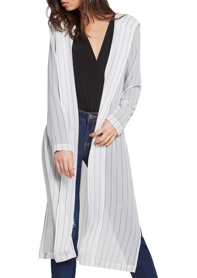 BCBG BCBGeneration Stripe Hooded Duster Cardigan | Sweaters - Shop ...