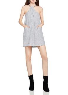 BCBGeneration Striped Halter Dress