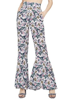 BCBGeneration Sunprint Floral Bell-Bottom Pants