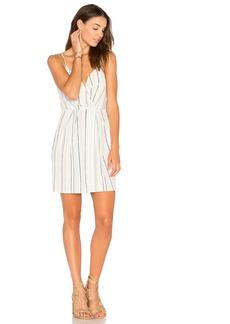 Surplice Drape Front Dress