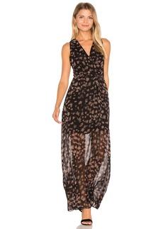 BCBGeneration Surplice Maxi Dress