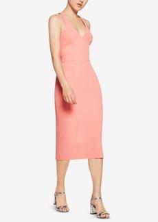 BCBGeneration T-Back Midi Sheath Dress
