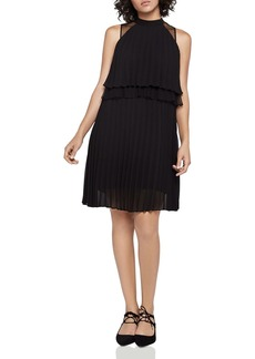 BCBGeneration Tiered Pleated Dress