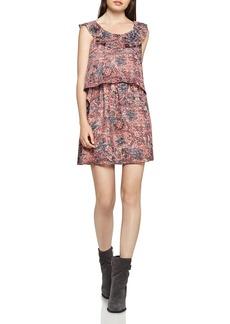 BCBGeneration Tiered Ruffle Dress