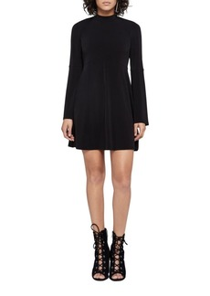 BCBGeneration Turtleneck Fit-and-Flare Dress