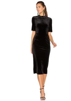 BCBGeneration Velvet Midi Dress