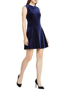 BCBGeneration Velvet Skater Dress - 100% Exclusive