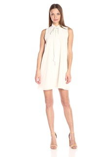 BCBGeneration Women's A-Line Dress with Neck Tie  M