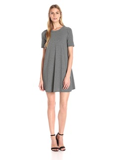 BCBGeneration Women's A-Line Stripe Yoke Dress
