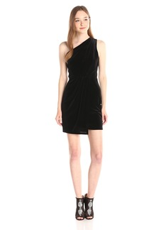 BCBGeneration Women's Asymmetrical Drape Dress