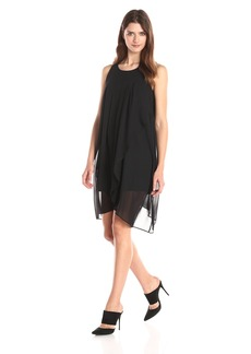 BCBGeneration Women's Asymmetrical Tiered Dress
