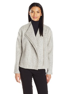 BCBGeneration Women's Asymmetrical Zip Jacket