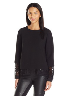 BCBGeneration Women's Boxy Two-Fer Top