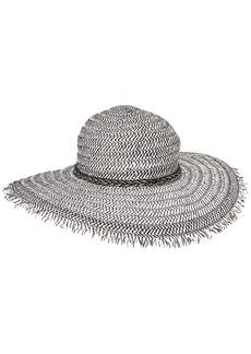 BCBGeneration Women's Braided Chain Floppy Hat