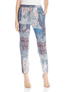 BCBGeneration Women's Carrot Printed oft Pant  mall