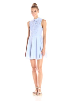 BCBGeneration Women's Collared Shirt Dress