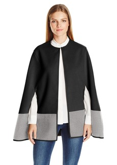 BCBGeneration Women's Colorblock Cape