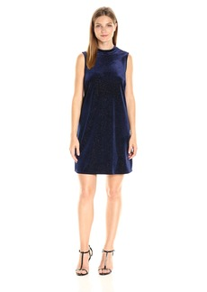 BCBGeneration Women's Contrast BK a-Line Dress  S