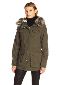 BCBGeneration Women's Cotton Anorak  M