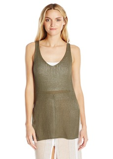 BCBGeneration Women's Crochet Knit Tank Top