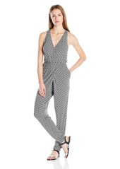 BCBGeneration Women's Cross Front Jumpsuit