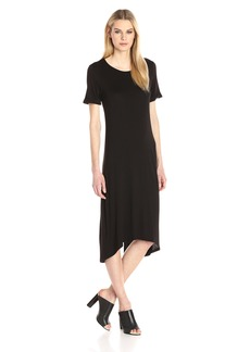 BCBGeneration Women's Cuffed T-Shirt Dress