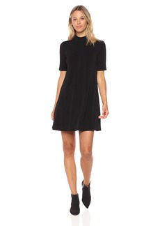 BCBGeneration Women's Cutout Back a-Line Dress