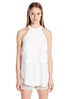 BCBGeneration Women's Double Layer Sleevless Top