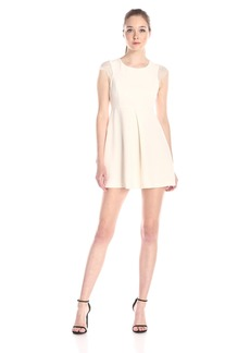 BCBGeneration Women's Dress with Box Pleat