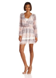 BCBGeneration Women's Dress with Lace Inserts