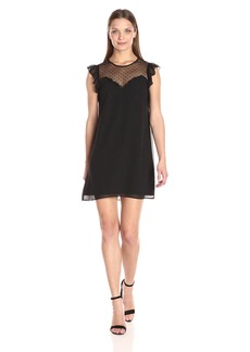 BCBGeneration Women's Dress with Ruffles  XS