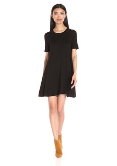 BCBGeneration Women's Easy Short Sleeve Swing Dress
