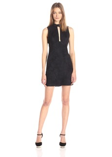 BCBGeneration Women's Faux Suede Shift Dress