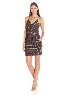 BCBGeneration Women's Faux Wrap Dress  L