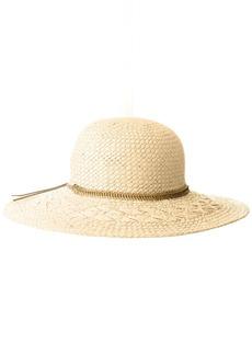 BCBGeneration Women's Feather Chain Floppy Hat