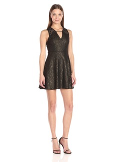 BCBGeneration Women's Flare Mini Dress
