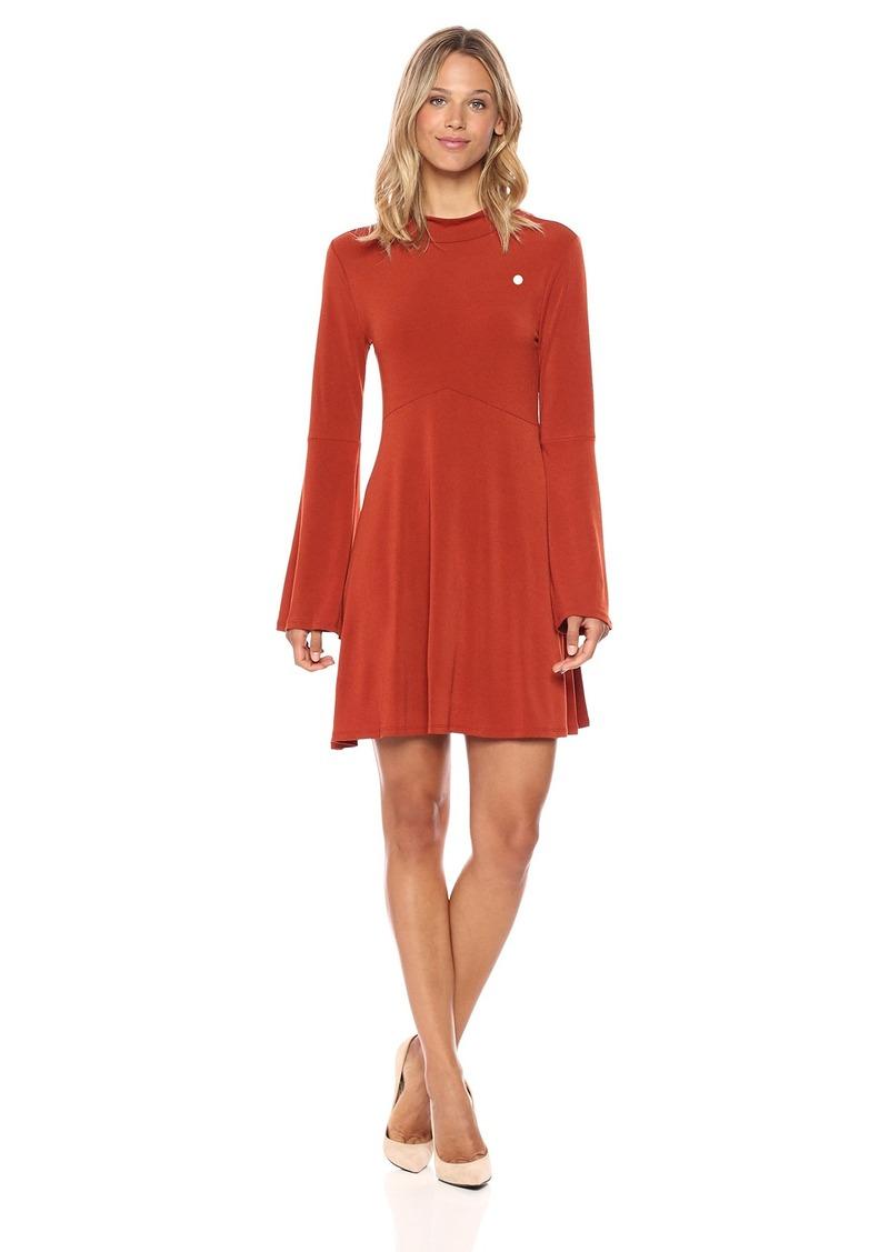 BCBGeneration Women's Flare Sleeve Dress