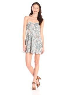 BCBGeneration Women's Floral Print Slip Dress
