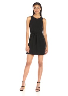 BCBGeneration Women's Front Drawstring Dress