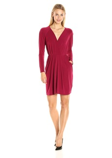BCBGeneration Women's Front Knot Dress