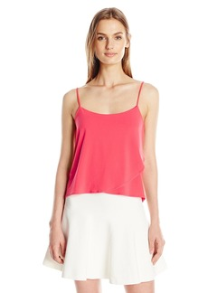 BCBGeneration Women's Front Overlay Cami Top
